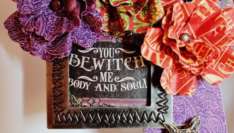 Graphic 45 Wicked Sign - Pam Bray - Rare Oddities - Photo 5_1362