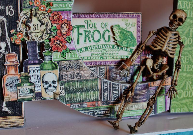 Graphic 45 Wicked Sign - Pam Bray - Rare Oddities - Photo 9_1372
