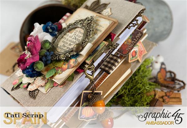 Tati, Thankful Fall Book, Product by Graphic 45, Photo 6