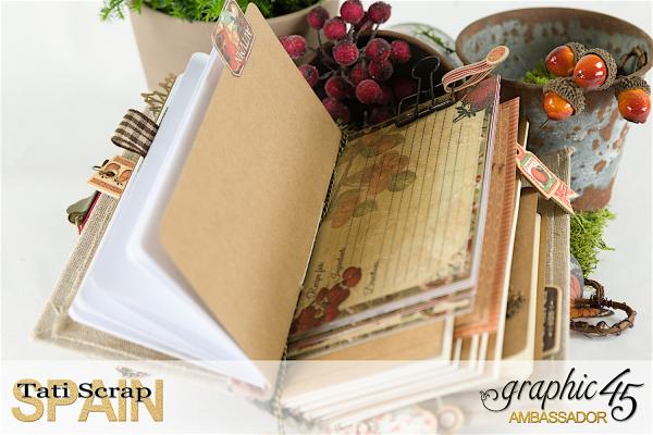 Tati, Thankful Fall Book, Product by Graphic 45, Photo 13