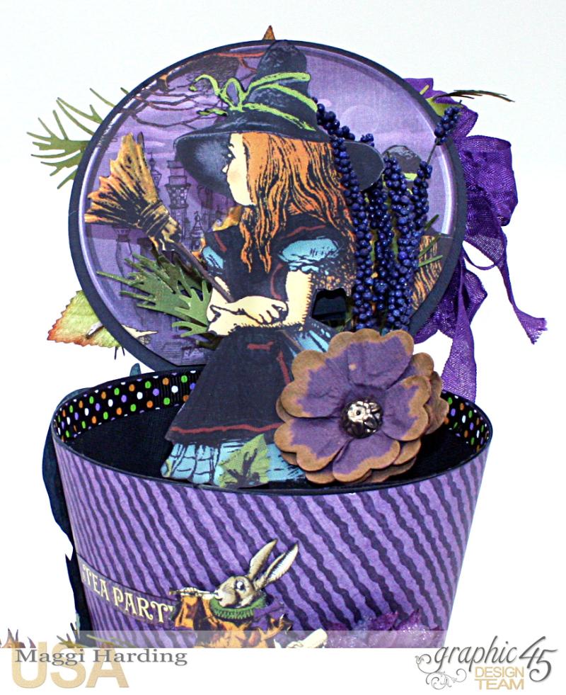 Hat, Hallowe'en in Wonderland, Maggi Harding, Graphic 45 (15)