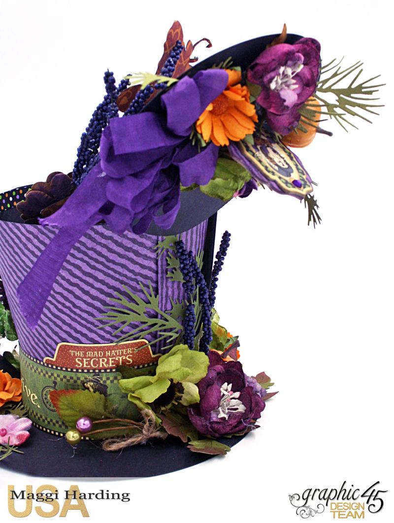 Hat, Hallowe'en in Wonderland, Maggi Harding, Graphic 45 (14)
