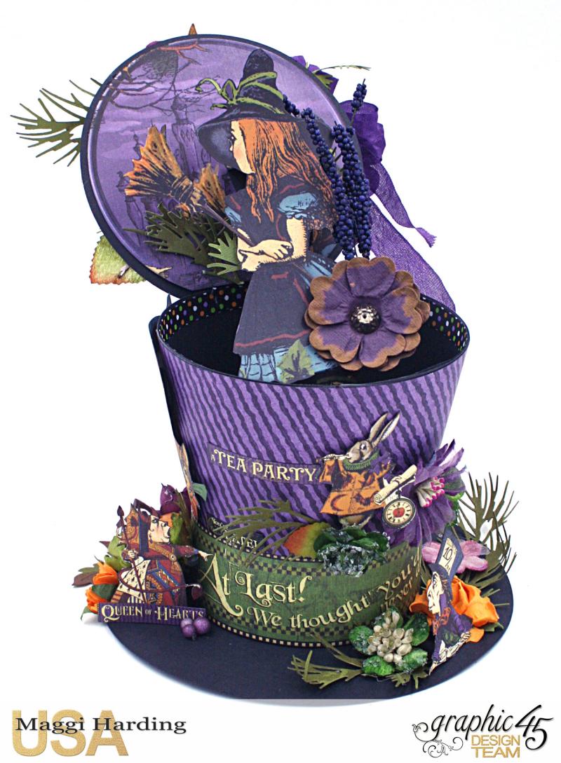 Hat, Hallowe'en in Wonderland, Maggi Harding, Graphic 45 (12)