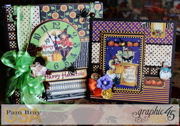 Graphic 45 Happy Haunting Pop Up Card and Box Tutorial - Pam Bray - Photo 1_1454