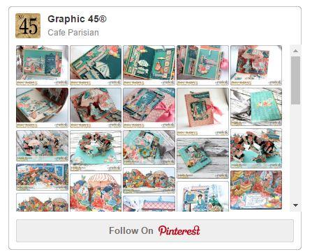 Graphic 45 Cafe Parisian Pinterest Board