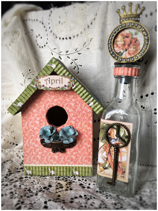 April ideas from Diane Schultz's workshop using Place in Time