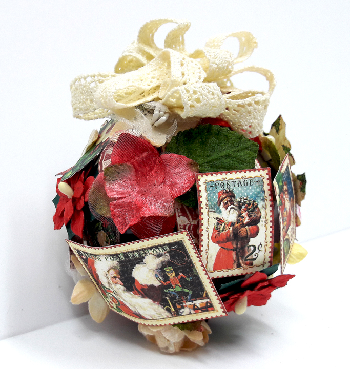 Christmas Ornament, St Nicholas, by Einat Kessler, product by Graphic 45, photo 3