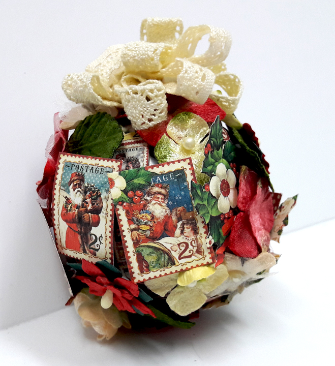Christmas Ornament, St Nicholas, by Einat Kessler, product by Graphic 45, photo 4