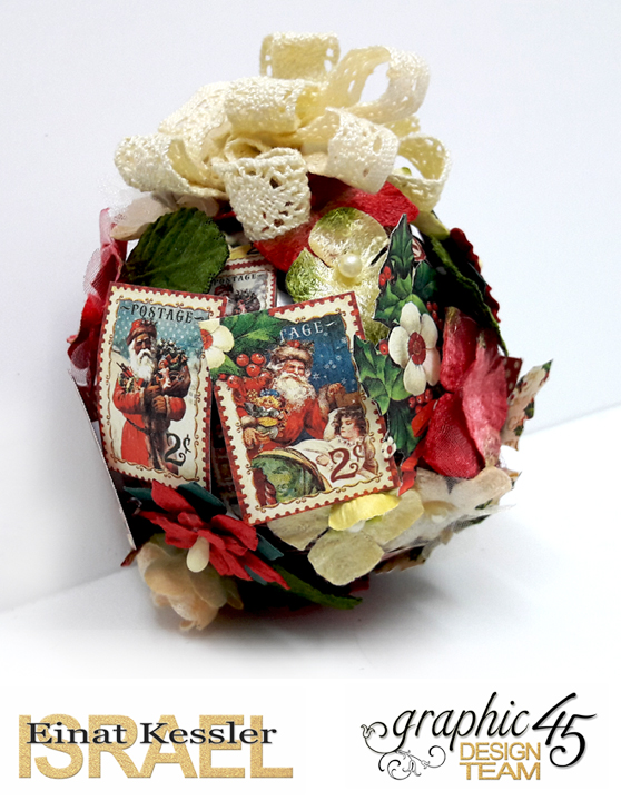 Christmas Ornament, St Nicholas, by Einat Kessler, product by Graphic 45, photo 5