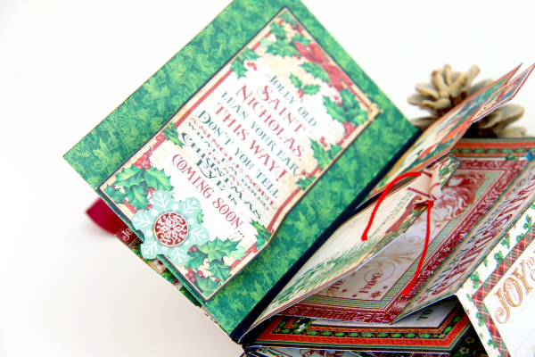 December Daily Album St. Nicholas Petaloo and Xyron Blog Hop by Marina Blaukitchen Product by Graphic 45 photo 26