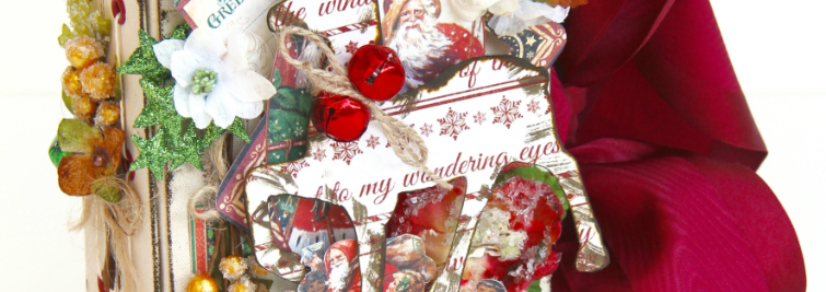 December Daily Album St. Nicholas Petaloo and Xyron Blog Hop by Marina Blaukitchen Product by Graphic 45 photo 14