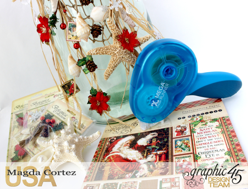 Christmas by the sea Home Decor-St Nicholas- By Magda Cortez - Product by Graphic 45-Photo 02 of 06