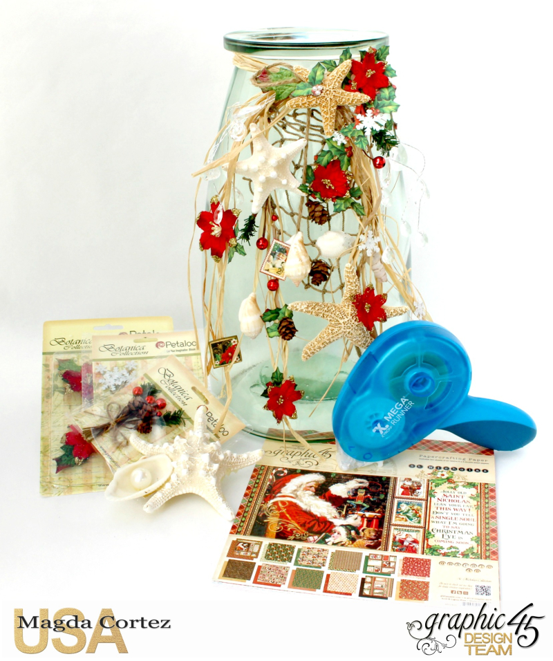 Christmas by the sea Home Decor-St Nicholas- By Magda Cortez - Product by Graphic 45-Photo 01 of 06