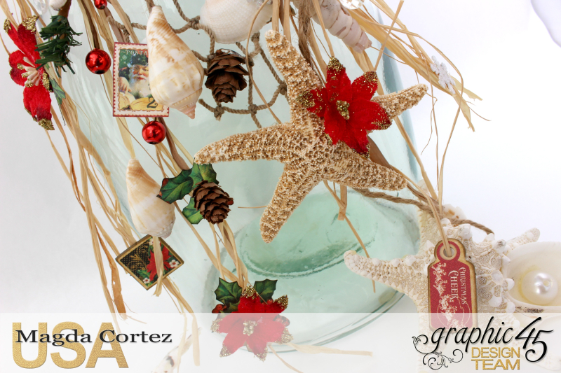 Christmas by the sea Home Decor-St Nicholas- By Magda Cortez - Product by Graphic 45-Photo 05 of 06
