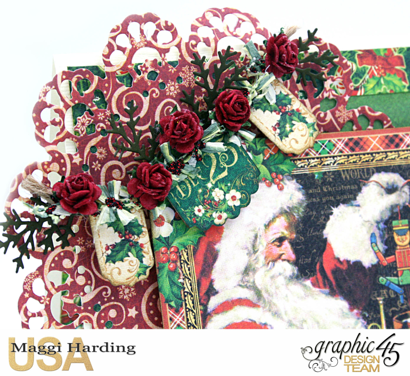 Christmas Card, St Nicholas, tutorial by Maggi Harding, Graphic 45 (4)