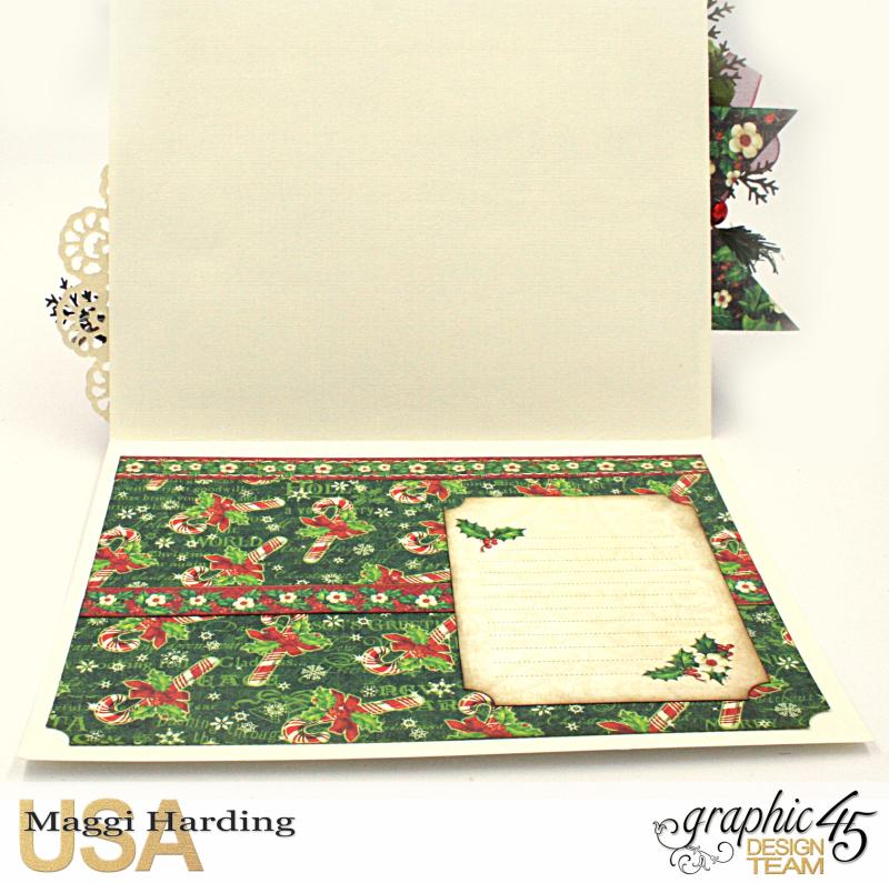 Christmas Card, St Nicholas, tutorial by Maggi Harding, Graphic 45 (5)
