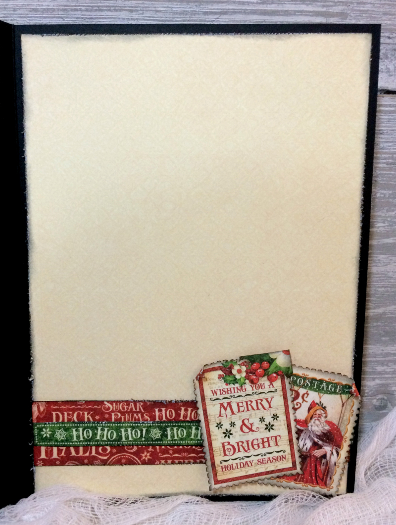 Christmas Card, St. Nicholas, Tutorial by Katelyn Grosart, Product by Graphic 45, Photo 6
