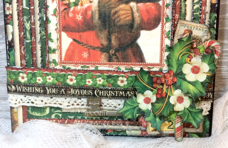 Christmas Card, St. Nicholas, Tutorial by Katelyn Grosart, Product by Graphic 45, Photo 2
