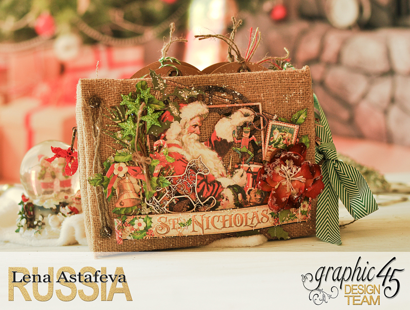 December Daily- St.Nicholas-by Len Astafeva-products Graphic 45 -130