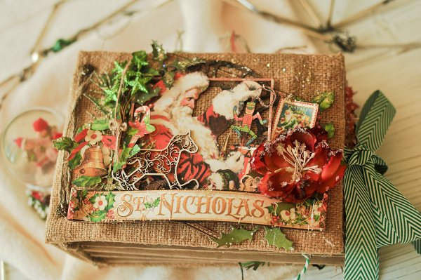 December Daily- St.Nicholas-by Len Astafeva-products Graphic 45 -13