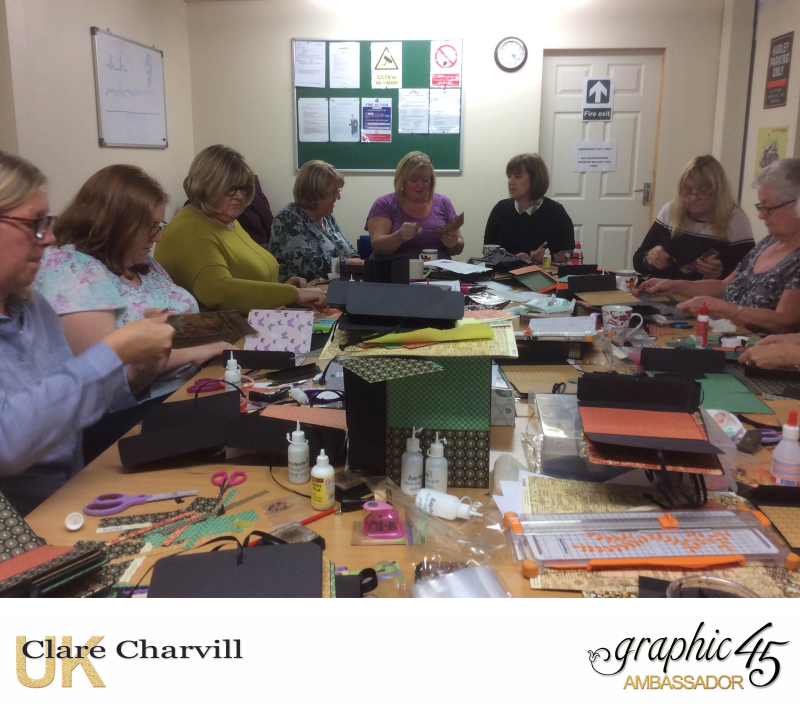 G45 workshop with Clare Charvill Skelton 6, Yorkshire