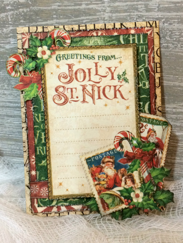 Gift Card Holders, St. Nicholas, By Katelyn Grosart, Product by Graphic 45, Photo 13