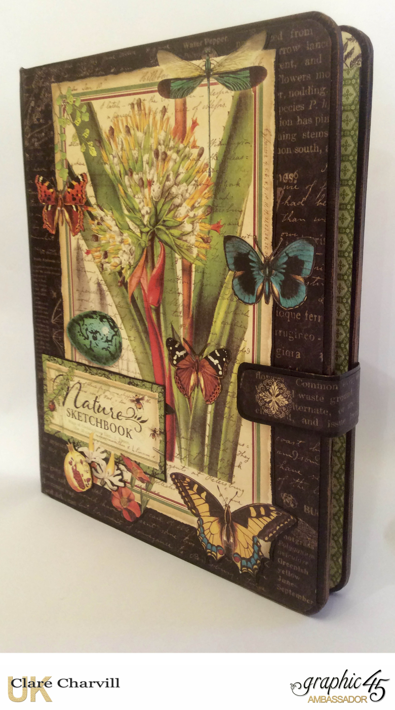 Natures Sketch Book Planner 2 Clare Charvill Graphic 45