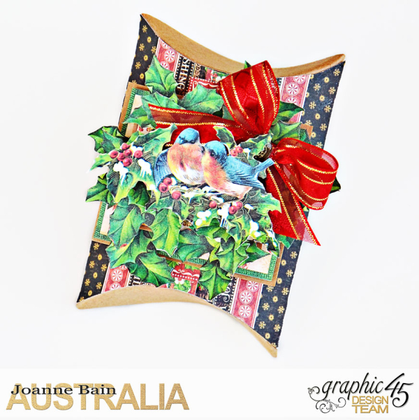 Pillow-Box-Gift,-St-Nicholas,-Tutorial-By-Joanne-Bain,-Product-by-Graphic-45,-Photo-2