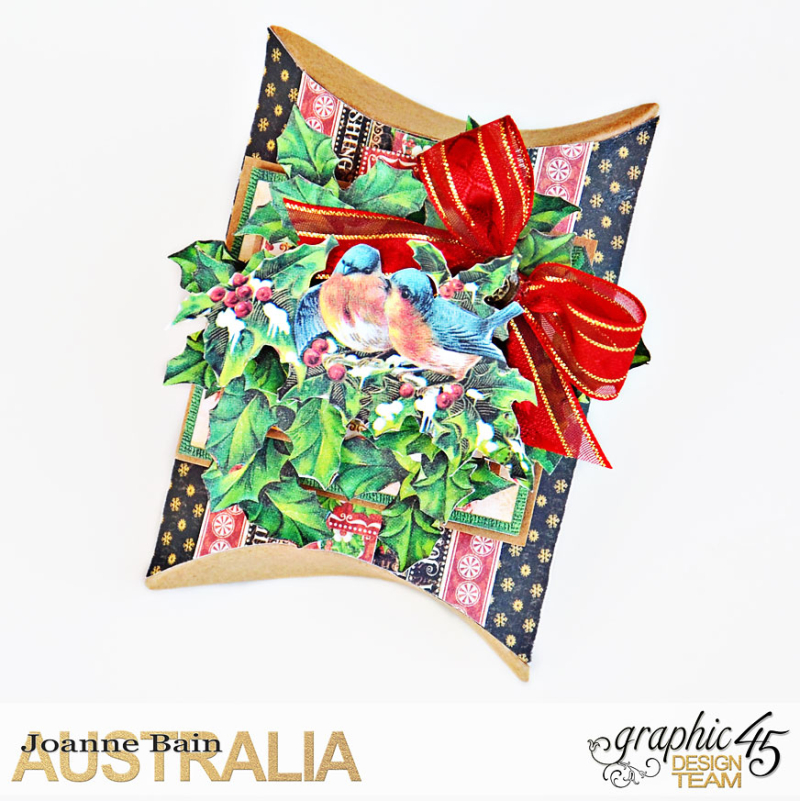 Pillow-Box-Gift,-St-Nicholas,-Tutorial-By-Joanne-Bain,-Product-by-Graphic-45,-Photo-1
