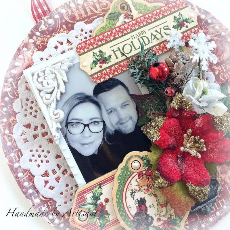 Children's Hour Christmas Wall Hang for Graphic 45, by Aneta Matuszewska, photo 3