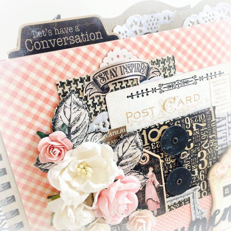 Ladies Diary Planner for Graphic 45, by Aneta Matuszewska, photo 2