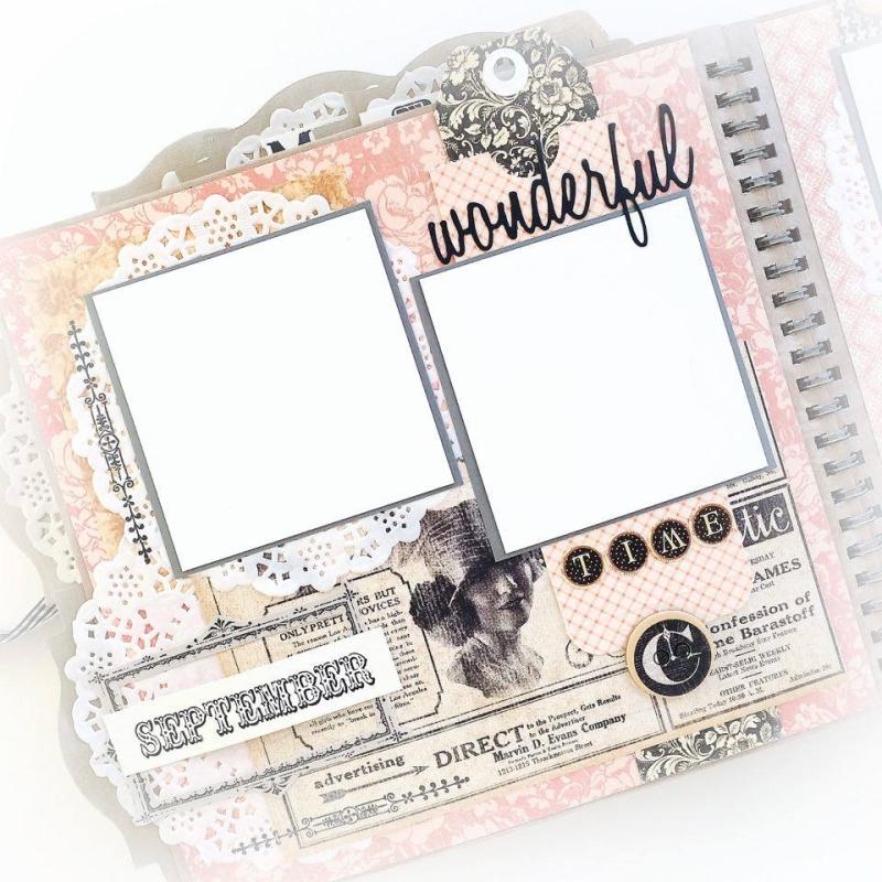 Ladies Diary Planner for Graphic 45, by Aneta Matuszewska, photo 17
