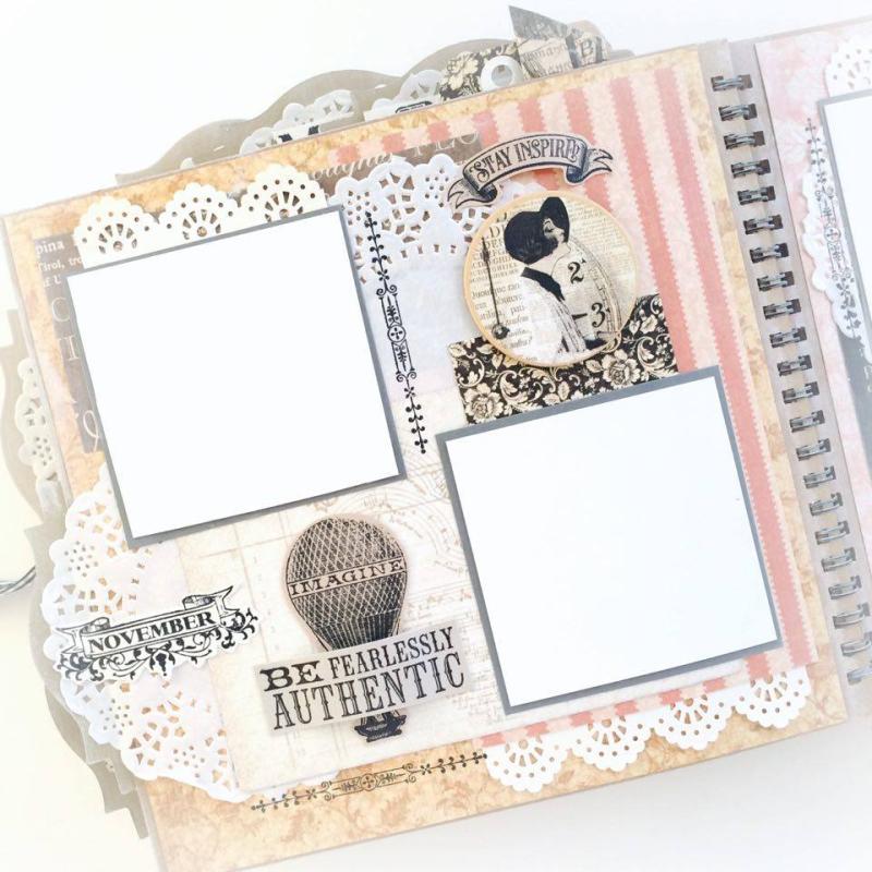 Ladies Diary Planner for Graphic 45, by Aneta Matuszewska, photo 19