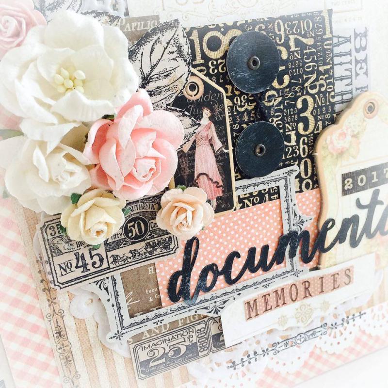 Ladies Diary Planner for Graphic 45, by Aneta Matuszewska, photo 3