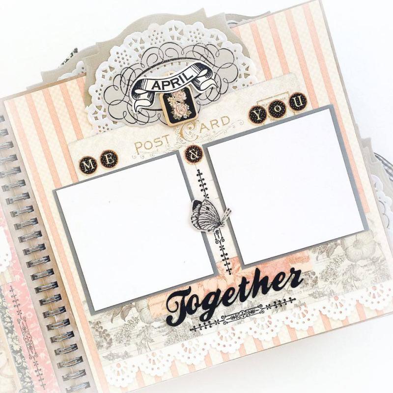 Ladies Diary Planner for Graphic 45, by Aneta Matuszewska, photo 12