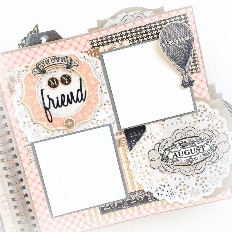 Ladies Diary Planner for Graphic 45, by Aneta Matuszewska, photo 16