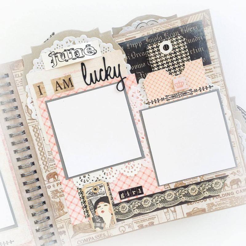 Ladies Diary Planner for Graphic 45, by Aneta Matuszewska, photo 14