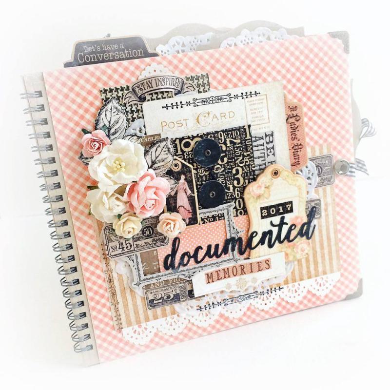 Ladies Diary Planner for Graphic 45, by Aneta Matuszewska, photo 1