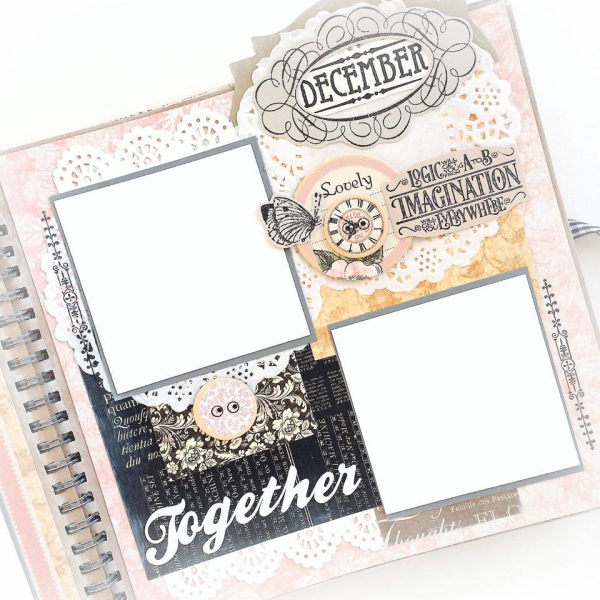 Ladies Diary Planner for Graphic 45, by Aneta Matuszewska, photo 15