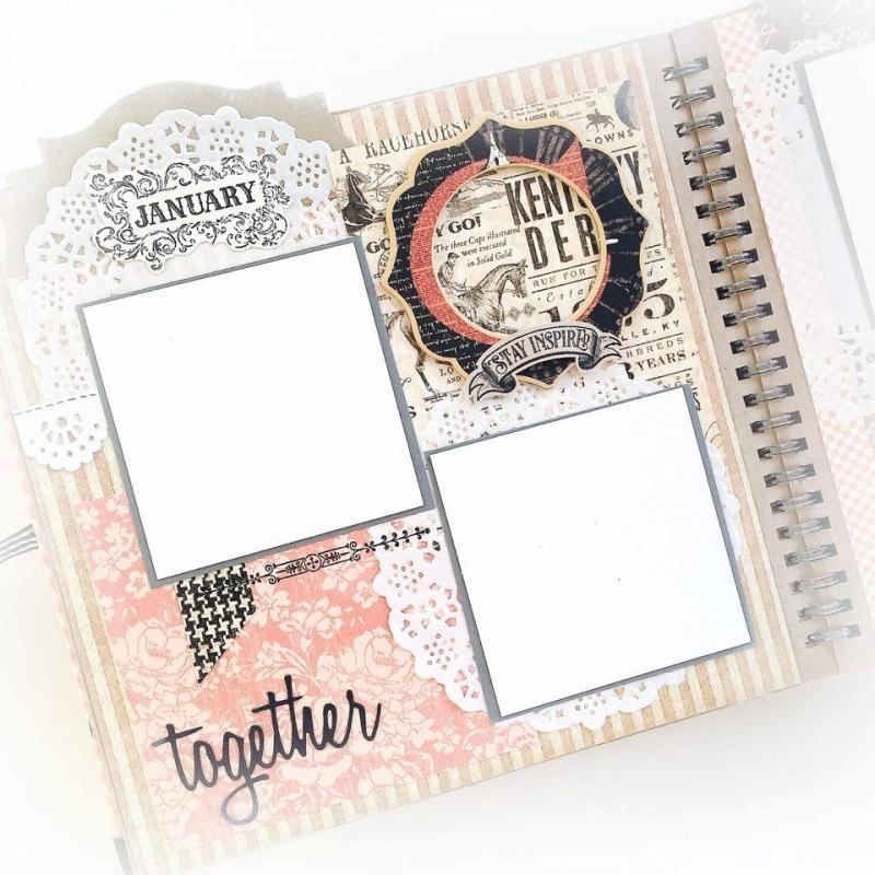 Ladies Diary Planner for Graphic 45, by Aneta Matuszewska, photo 9