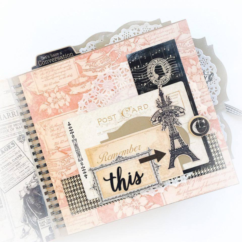 Ladies Diary Planner for Graphic 45, by Aneta Matuszewska, photo 8