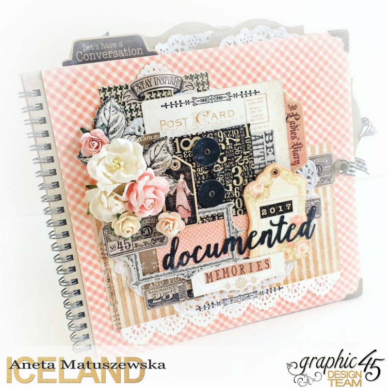 Ladies Diary Planner for Graphic 45, by Aneta Matuszewska, photo 1