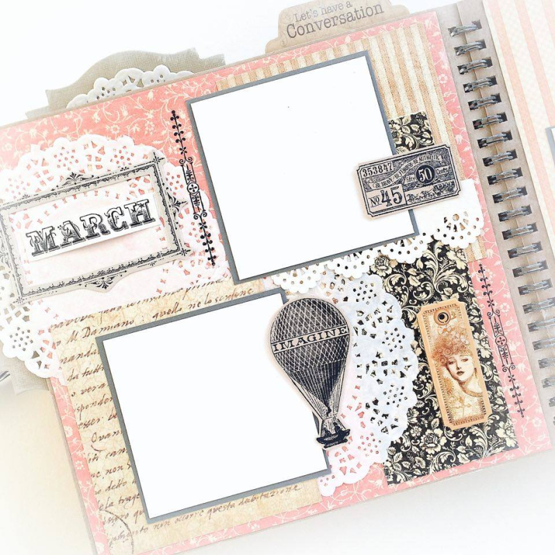Ladies Diary Planner for Graphic 45, by Aneta Matuszewska, photo 11