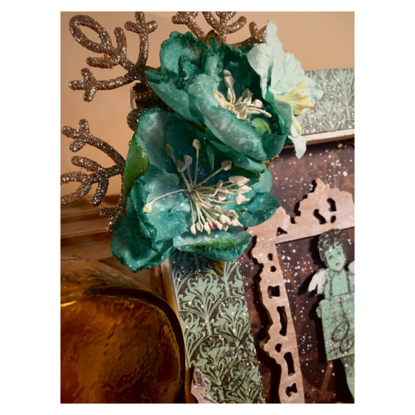 Sweet angel canvas, Steampunk debutante , photo 4 , by Nico Scrap, Product by Graphic 45.