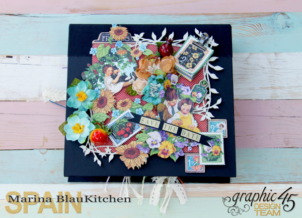 Save the date Childrens Hour by Marina Blaukitchen Product by Graphic 45 photo 5