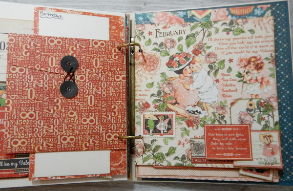 2017 Scrapbook Planner, Children's Hour, By Katelyn Grosart, Product By Graphic 45, Photo 19