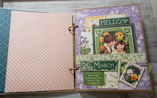 2017 Scrapbook Planner, Children's Hour, By Katelyn Grosart, Product By Graphic 45, Photo 21