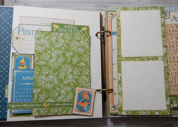 2017 Scrapbook Planner, Children's Hour, By Katelyn Grosart, Product By Graphic 45, Photo 30