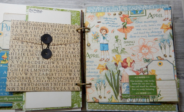 2017 Scrapbook Planner, Children's Hour, By Katelyn Grosart, Product By Graphic 45, Photo 33