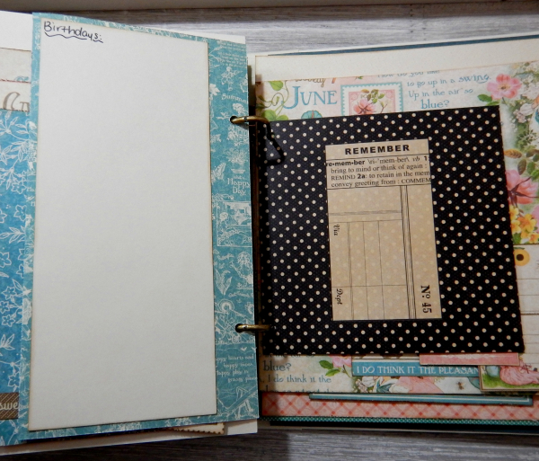2017 Scrapbook Planner, Children's Hour, By Katelyn Grosart, Product By Graphic 45, Photo 46